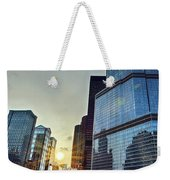 A Cold Chicago Day Weekender Tote Bag
