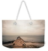 A Cold Compo Beach  Weekender Tote Bag