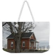 A Cold Day At School Weekender Tote Bag