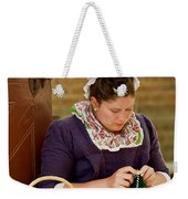 A Colonial Lady Knits Weekender Tote Bag