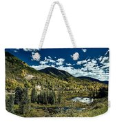 A Colorado Autumn Weekender Tote Bag
