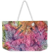 A Colorful Lecture On Glitter Weekender Tote Bag
