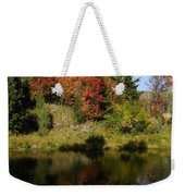 A Colorful Reflection Weekender Tote Bag