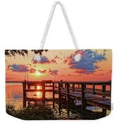 A Colorful Sunrise Weekender Tote Bag