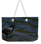A Common Grackle Weekender Tote Bag
