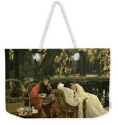 A Convalescent Weekender Tote Bag by James Jacques Joseph Tissot