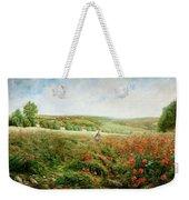 A Corner Of The Field In Bloom Weekender Tote Bag