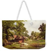 A Cottage Home In Surrey Weekender Tote Bag
