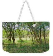 A Country Morning Weekender Tote Bag