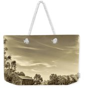 A Country Place 3 - Sepia Weekender Tote Bag