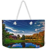 A Country Place Painted Version Weekender Tote Bag