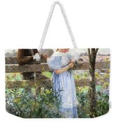 A Country Romance Weekender Tote Bag