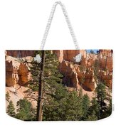 A Couple Hikes Along A Trail In Bryce Weekender Tote Bag