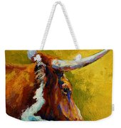 A Couple Of Pointers - Longhorn Steer Weekender Tote Bag