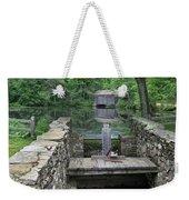 A Covered Bridge Weekender Tote Bag