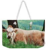 A Cow's Tale - Lazy Day Weekender Tote Bag