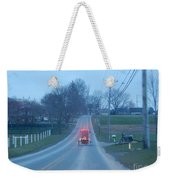 A Cozy Buggy Ride Home Weekender Tote Bag