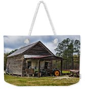 A Crooked Little Barn Weekender Tote Bag