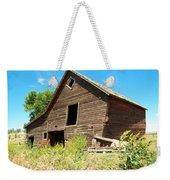 A Crooked Old Barn  Weekender Tote Bag