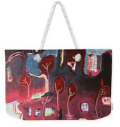 A Crow And A Cat Weekender Tote Bag