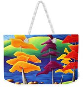 A Crowd Gathers Weekender Tote Bag