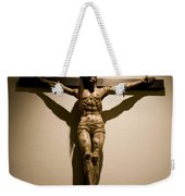 A Crucifix In The Old Saint Francis Weekender Tote Bag
