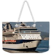 A Cruise Ship Weekender Tote Bag