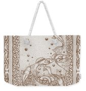 A Dance Around The Bubbles Weekender Tote Bag