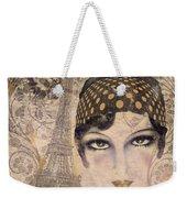 A Date With Paris Weekender Tote Bag