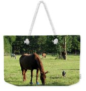 A Day At Chimney Field 1 Weekender Tote Bag