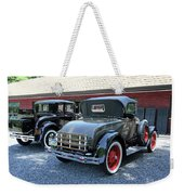 A Day At The Antique Store Weekender Tote Bag