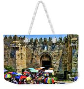 A Day At The  Bazaar Weekender Tote Bag