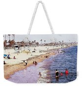 A Day At The Beach - Colored Pens Effect Weekender Tote Bag