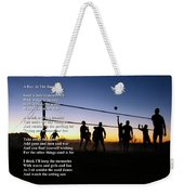 A Day At The Beach Weekender Tote Bag