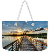 A Day At The Lake Weekender Tote Bag