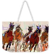 A Day At The Races 2 Weekender Tote Bag