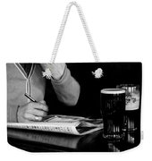 A Day At The Races Weekender Tote Bag by Dawn OConnor