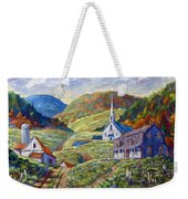 A Day In Our Valley Weekender Tote Bag