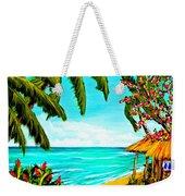 A Day In Paradise Hawaii Beach Shack  #360 Weekender Tote Bag