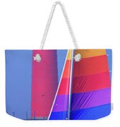 A Day Of Sailing Weekender Tote Bag