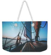 A Day On The Lake Weekender Tote Bag