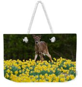 A Deer And Daffodils IIi Weekender Tote Bag