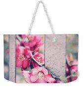 A Delicate Spring Weekender Tote Bag