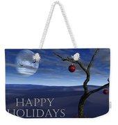 A Desert Christmas Weekender Tote Bag
