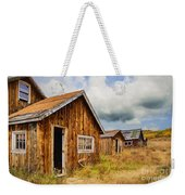 A Deserted Sawmill Town Weekender Tote Bag