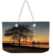 A Detroit Sunset - The View From Belle Isle Weekender Tote Bag