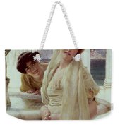 A Difference Of Opinion Weekender Tote Bag