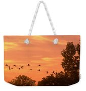 A Different Approach To Sunset Weekender Tote Bag
