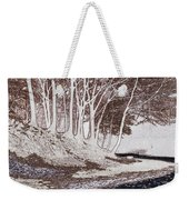 A Different World #1. Groove Of Trees Weekender Tote Bag