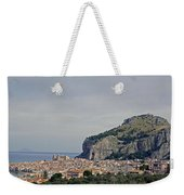 A Distant View Cefalu Sicily Weekender Tote Bag